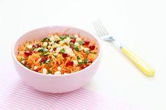 La bonne équation, pour sublimer vos carottes râpées à volonté ! Nutrition, Macaroni And Cheese, List, Ethnic Recipes, Food, Inspiration, Chia Seeds, Kitchens, The Hours
