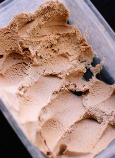 Frozen Chai coconut ice cream - Vegan, sub agave for honey