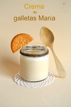 CREMA DE #GALLETAS MARIA #Thermomix