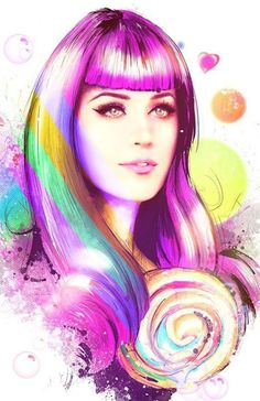 Beautiful art.  #KatyPerry #Katykatnote #katykat