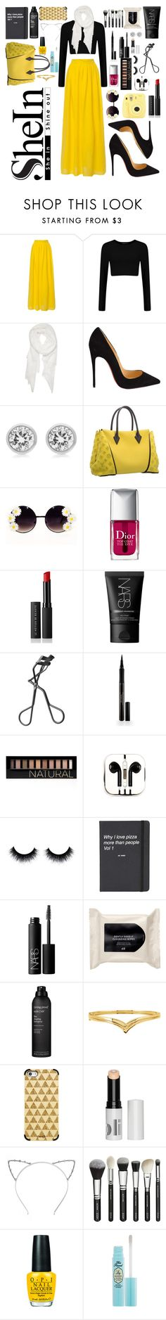 """Untitled #63"" by jmatz on Polyvore featuring Calvin Klein, Christian Louboutin, Michael Kors, Louis Vuitton, Christian Dior, Le Métier de Beauté, NARS Cosmetics, Elizabeth Arden, Forever 21 and PhunkeeTree"