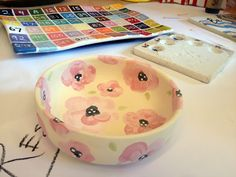 a trip to the paint-your-own-pottery studio!