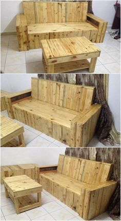 At the end we have come about with the overall image of the interesting wood pallet patio furniture set for you. You would be finding it much amazing in appearance and you would love to make it part of your home furniture timeline for sure. Go for it now!