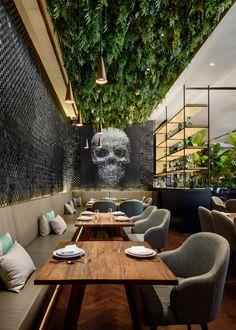 Gallery of Peyote Dubai Restaurant / Sordo Madaleno Arquitectos - 4 #Bardesign #Barinterior #Restaurant #Restaurantdesign #Restaurantinterior #Restaurantbar