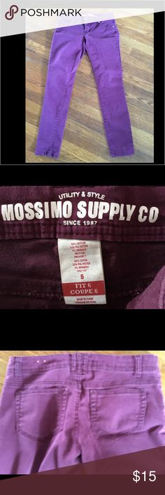 Mossimo Purple Skinny Jeans. Mossimo Purple Skinny Jeans. Great Pre-Owned Condtion. Mossimo Supply Co Pants Skinny