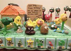 plants vs zombies cakes - Google Search