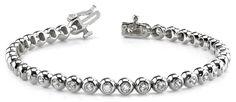 Diamantarmband 3.04 Karat aus 585er/750er Gelb- oder Weißgold  #diamantarmband #diamonds #diamante #diamanten #gold #schmuck #diamantschmuck #juwelier #abt #dortmund #brillant #armband #armschmuck #hochzeit