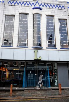 Leaf teashop in #Liverpool - great #ArtDeco