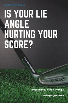 Having a lie angle that is too flat or too upright can prevent you from ever hitting the ball straight. This guide will help you diagnose and avoid this common problem. Golf Tips Driving, Golf Stance, Volleyball Tips, Golf Putting Tips, Golf R, Golf Videos, Golf Instruction, Golf Tips For Beginners, Perfect Golf