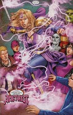 Justice League Dark: Amethyst