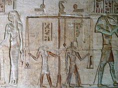 Psychostasie - das Wiegen der Herzen (Seelen) nach dem Tod (Ägypten)