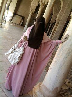 Beautiful Butterfly Abaya with Niqab