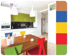 #kitchen #colors #casadasamigas   http://casadasamigas.com/
