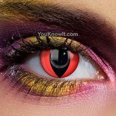 Red cat lenses - $15.98+ - PRESCRIPTION AVAILABLE!