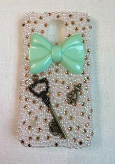 Vintage Key & Pearl Galaxy S5 Case