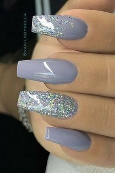 Grey Nails #nailart #nails #nailpolish #naildesigns #beautynails