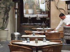 The Restaurant, San Miguel de Allende. Local organic restaurant.