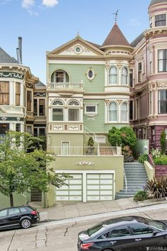 850 Steiner St., San Francisco at Alamo Square the painted gentleman $5.65 million