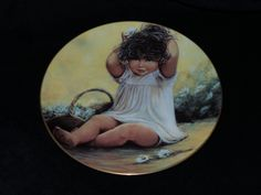 "1982 Hackett American Playful Memories ""Jamie"" Collector Plate by Sue Etém by…"