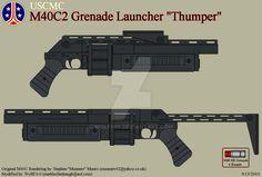 USCMC M40C2 Grenade Launcher by Wolff60