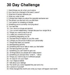 Blog for 3rd and 4th ESO stuff: Thinking about 30-day challenges