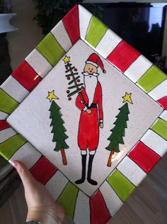 Make a holiday plate for yourself or for a gift at a ceramics painting place!