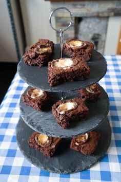 Heavenly Creme Egg brownies