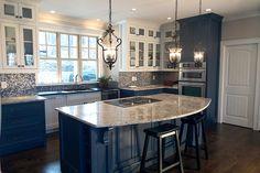 Craftsman Style House Plan - 3 Beds 3.5 Baths 2499 Sq/Ft Plan #119-367 Interior - Kitchen - Houseplans.com