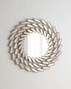 Swirl+Mosaic+Mirror+at+Horchow.