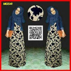 baju maxi buntung naura set remaja MGS41