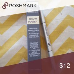 It cosmetics brow power It cosmetics brow pencil new never used..liner and brush double ended...beautiful results it cosmetics  Makeup Eyebrow Filler