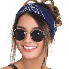 ブランドの新しい女性ファッションバンダナスカーフ四角いヘッドスカーフ&ラップ女性バンダナ帽子ヘッドバンド女性58*58センチ# lyw