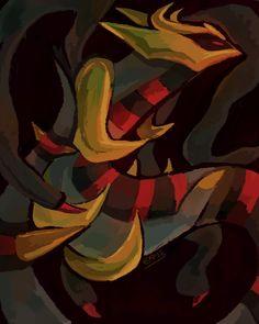 Giratina by blubified on DeviantArt Pokemon W, Ghost Pokemon, Pikachu, Dragon Manga, Pokemon Backgrounds, Ghost Type, Pokemon Official, Pixel Animation, Cute Animal Drawings