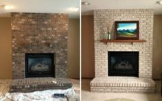 Latest Painting Fireplace Brick Ideas Inspirations