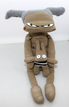 Socks dolls   Flickr - Photo Sharing!