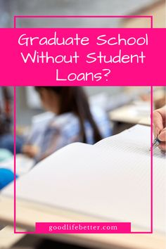 If you can at all swing it, my advice is to cash flow graduate school (if you go at all! Graduate Student Loans, Graduate School, College Classes, College Life, College Hacks, Going Back To School, Continuing Education, Budgeting Tips, Career Advice