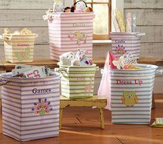 canvas buckets