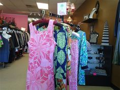 Great Lilly Pulitzer Sundresses at Ms. Mulligan's Consignment Boutique