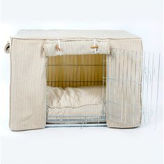 Dog Crate, Cover and Cushion Set in Regency Stripe