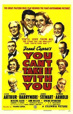 11th Academy Awards Best Picture Winner - You Can't Take It With You - Feb 23, 1939