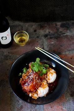 Korean-Filipino Gochujang Chicken Adobo #Gochujang