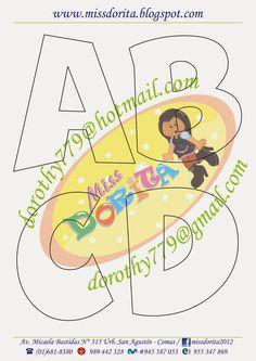 Moldes, Videos Tutoriales y Revistas Gratis de Foami, Goma Eva y microporoso, Compartir es nuestro lema y vayamos por la vida haciendo el Bien Alphabet Templates, Felt Templates, Bubble Letter Fonts, Bow Template, 3d Letters, Handwritten Letters, Mandala Art, Anchor Charts, Paper Piecing