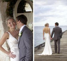 """Meg looks just amazing a Gwendolynne """"Vanessa"""" gown as the Blog is named she sure is """"one stylish bride"""""""