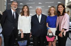 Firenze Flagship Opening - Jean Cassegrain, Vittoria Puccini, Philippe Cassegrain, Tatiana Luter and Sophie Delafontaine