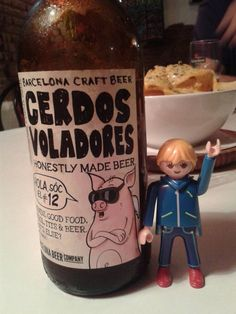 Bebiendo birra en Gràcia!