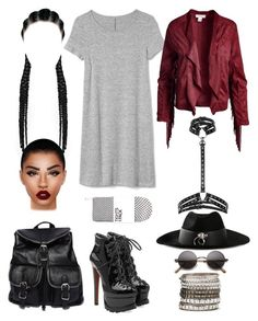"""""""Untitled #5420"""" by allison-syko ❤ liked on Polyvore featuring Gap, Sans Souci, Alaïa, Zana Bayne, UNIF, MNG by Mango, 3 AM Imports and Lime Crime"""