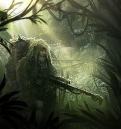 Old Sniper by Hazzard65.deviantart.com on @deviantART