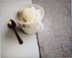 Fennel ice cream