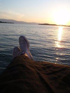 greek islands infront of me..