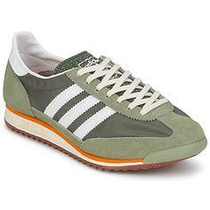 SL72 Olive / Weiss - dieser Sneaker von Adidas